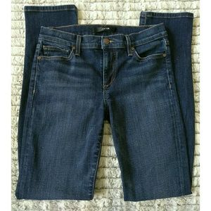 Joe's Straight Leg Dark Wash Jeans 27